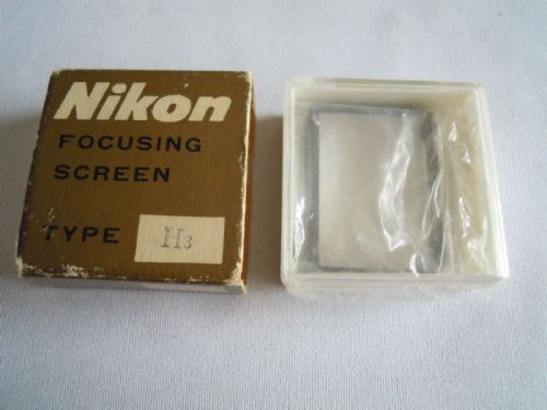 NIKON FOCUSING SCREEN TYPE H3
